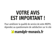 Enquête nationale de satisfaction des usagers MDPH